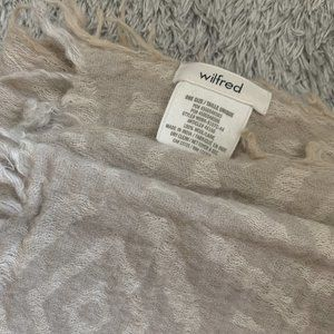 Wilfred Accessories - Aritzia Wilfred Pop Art Blanket - Cream/Nude